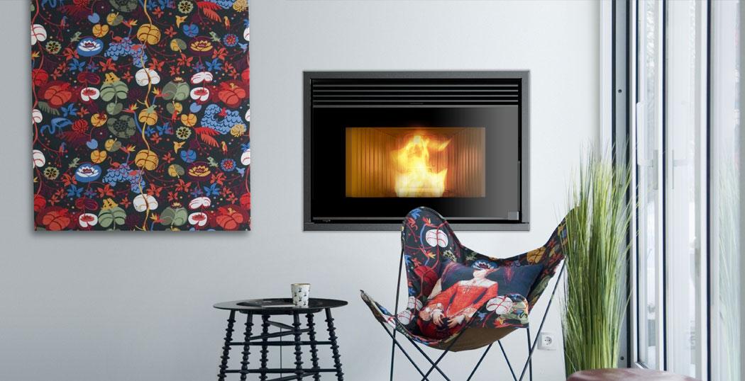 nordic fire boxline 1000 rcv pelletkachel. Black Bedroom Furniture Sets. Home Design Ideas